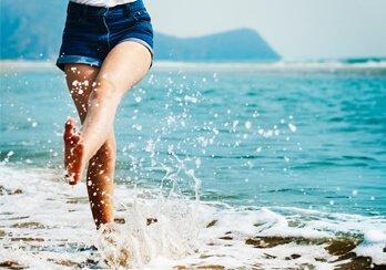 Dicas para joelhos saudáveis no verão