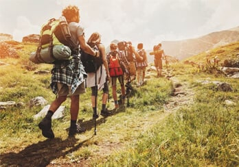 Preparando seu joelho para as trilhas