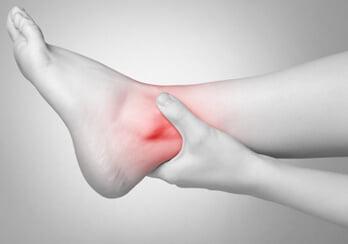 Lesão ligamentar do tornozelo