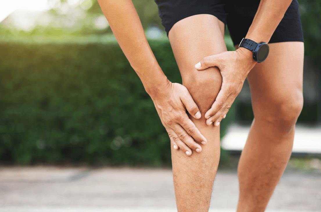 Quais sao as 3 lesoes mais comuns no joelho